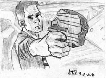 Pencil sketch // Esbozo a lápiz