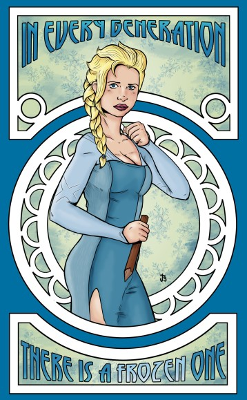 Buffy meets Frozen