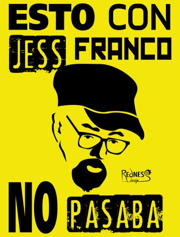 Spanish filmmaker Jess Franco