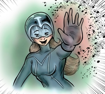 Panel for Teknaria, which made me win a Spanish comic contest named Nanokomik. MangaStudio + Photoshop.