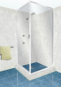 3D Illustration for a showers catalog