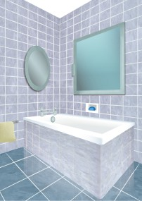 Another 3D illustration for a shower's catalog