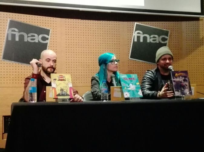 Press conference in Fnac