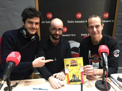 Interview for Radio Sabadell