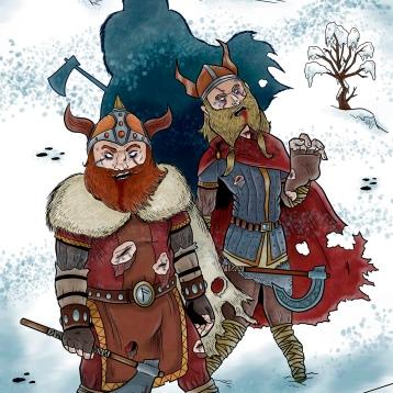 Zombies + Vikings = Zombikings!