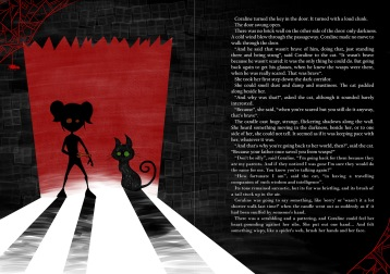 Illustration on Neil Gaiman's Coraline, made for a children's books illustration course I took.