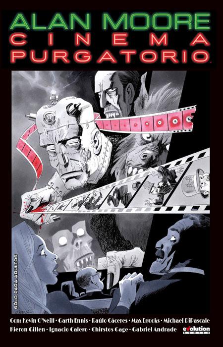 cinema purgatorio, alan moore, comics, terror, antología,
