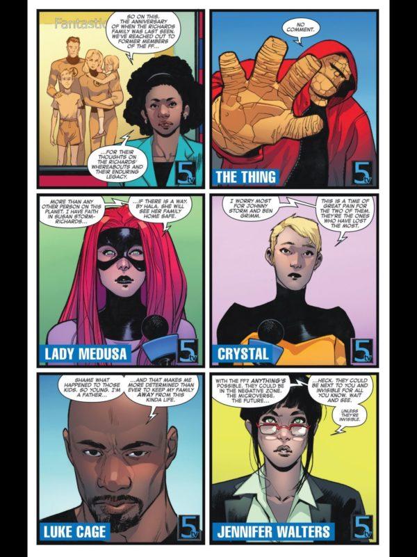 cuatro fantasticos, dan slott, marvel, comics, superheroes,