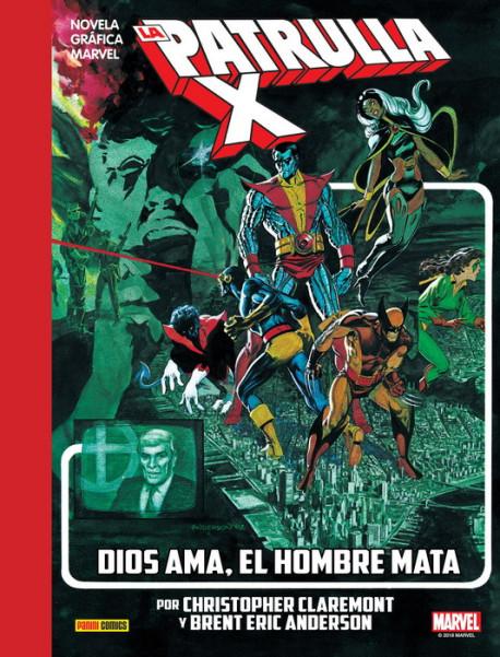 dios ama hombre mata, x-men, marvel, comic, comics, novelas graficas, clasicos, clasicas,