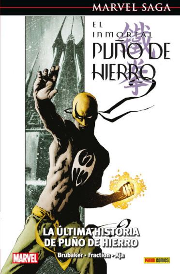 inmortal, puño hierro, iron fist, immortal, brubaker, fraction, aja, david, ed, matt, marvel, comics,