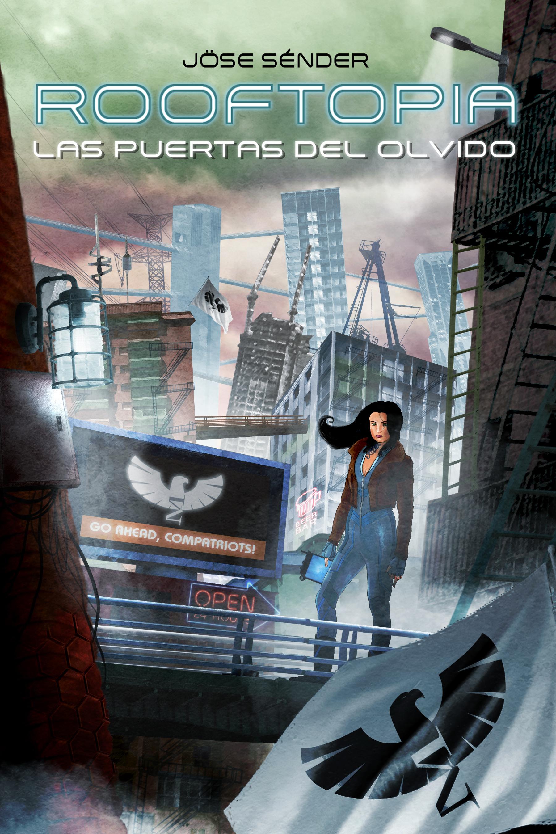 Mi libro ROOFTOPIA: LAS PUERTAS DEL OLVIDO en Amazon
