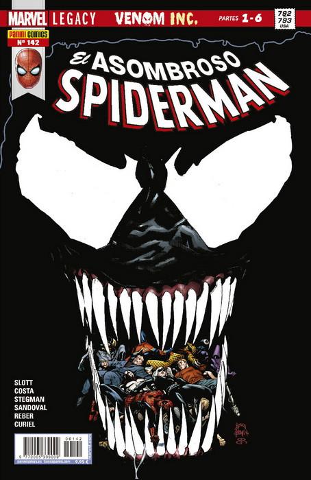spiderman, spider-man, venom, comics, superheroes, marvel, reseñas, criticas,