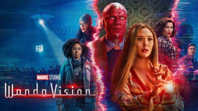 wandavision, bruja escarlata, vision, elisabeth olsen, series, mcu, marvel, superheroes,