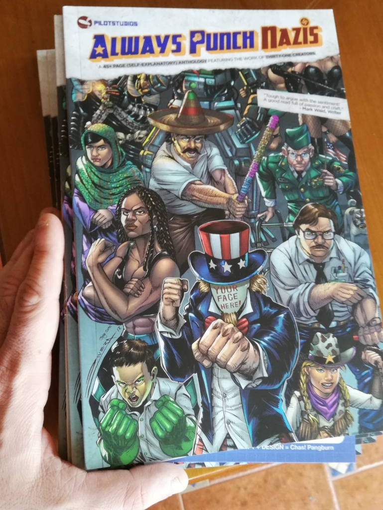 always punch nazis, antifa, comics, charity, comic, american, benéfico,
