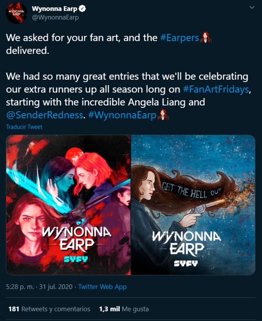 wynonna earp, contest, art, fanart, illustration, syfy, weartwynonna, prize, winner,